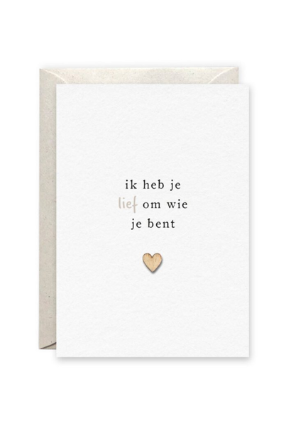 Card 'Lief'