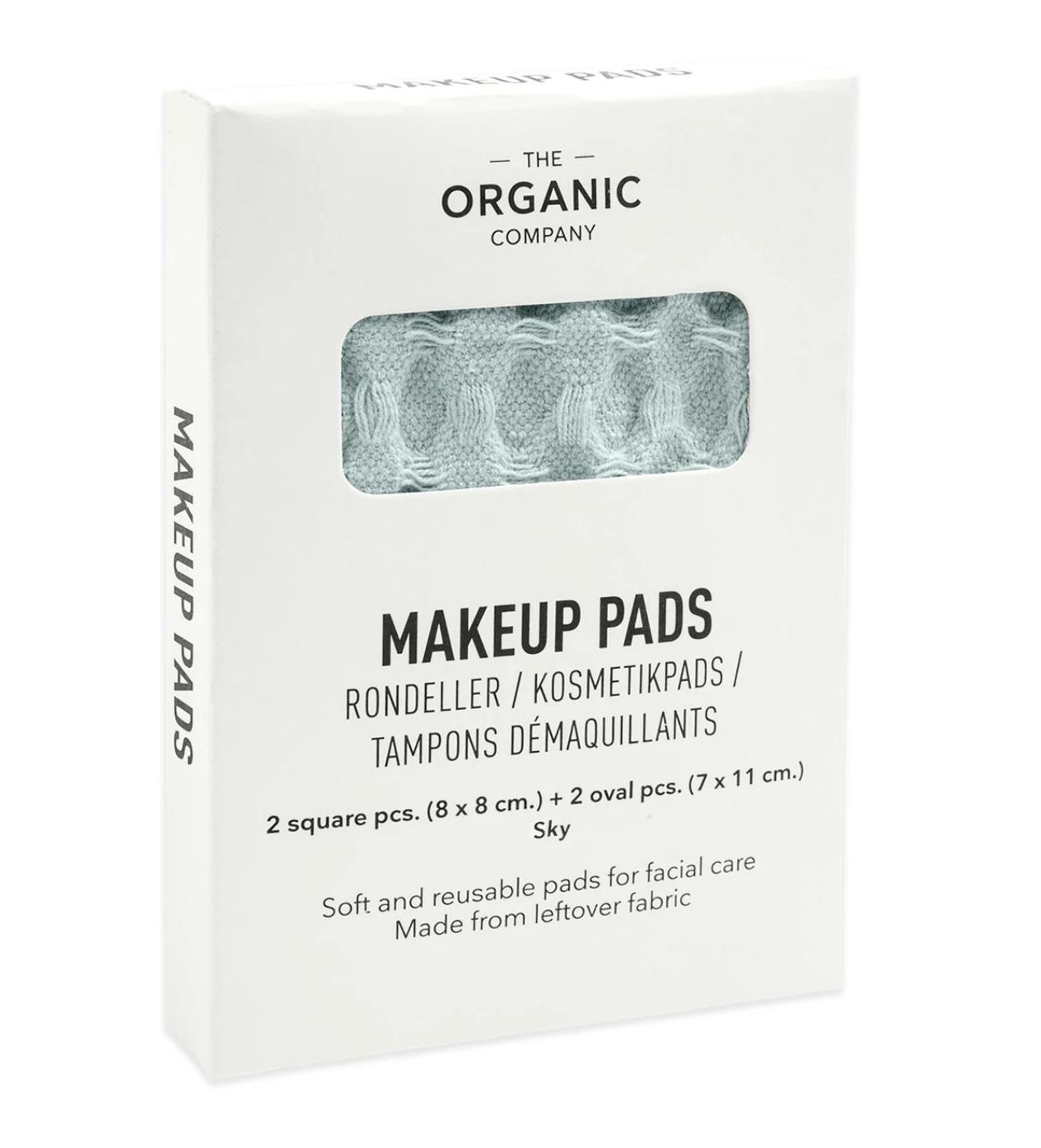 Make-up Pads Hemelblauw - The Organic Company-3
