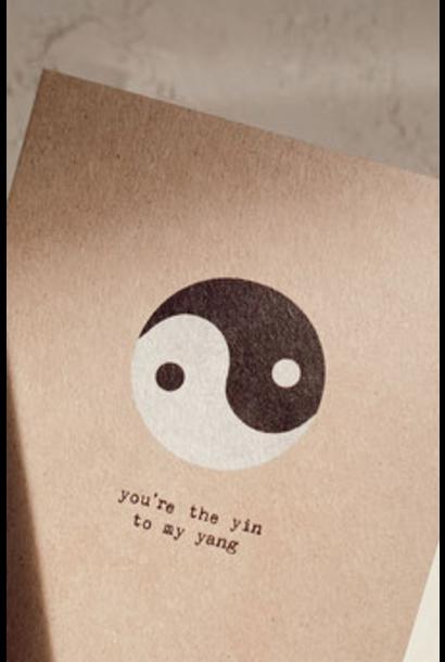 Kaartje  Ying & Yang