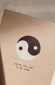 Kaartje  Ying & Yang - Anna Cosma-1