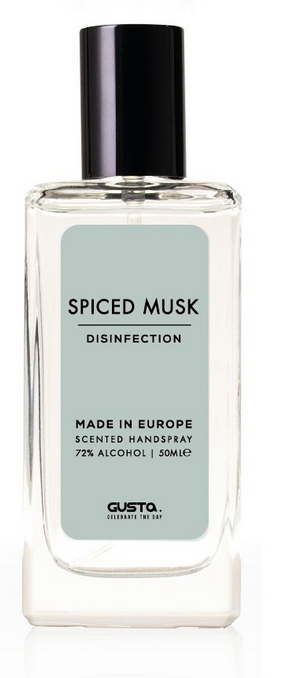 Desinfecterende Handspray - Spiced Musk - Gusta-1