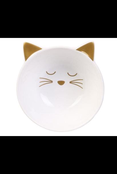 Bowl Cat White