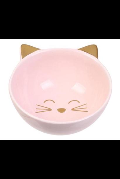 Bowl Cat Pink