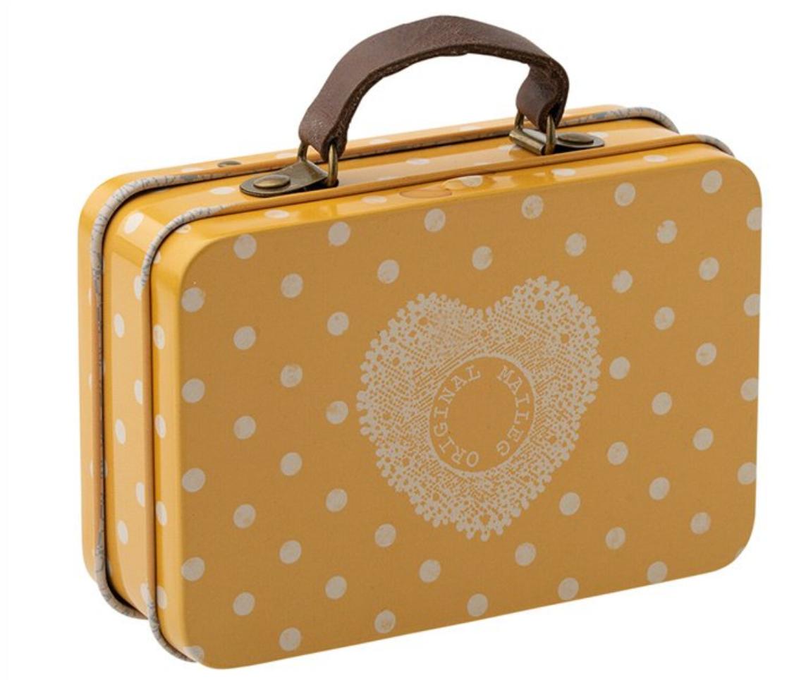 Koffertje Geel Dots - Maileg-1