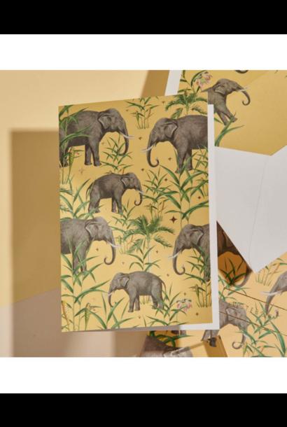 wenskaart - Oscar The Elephant