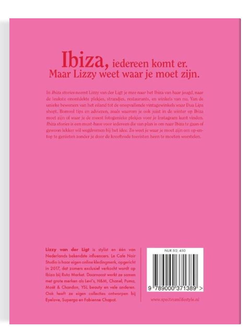 Boek Ibiza Stories - Lizzy van der Ligt-2