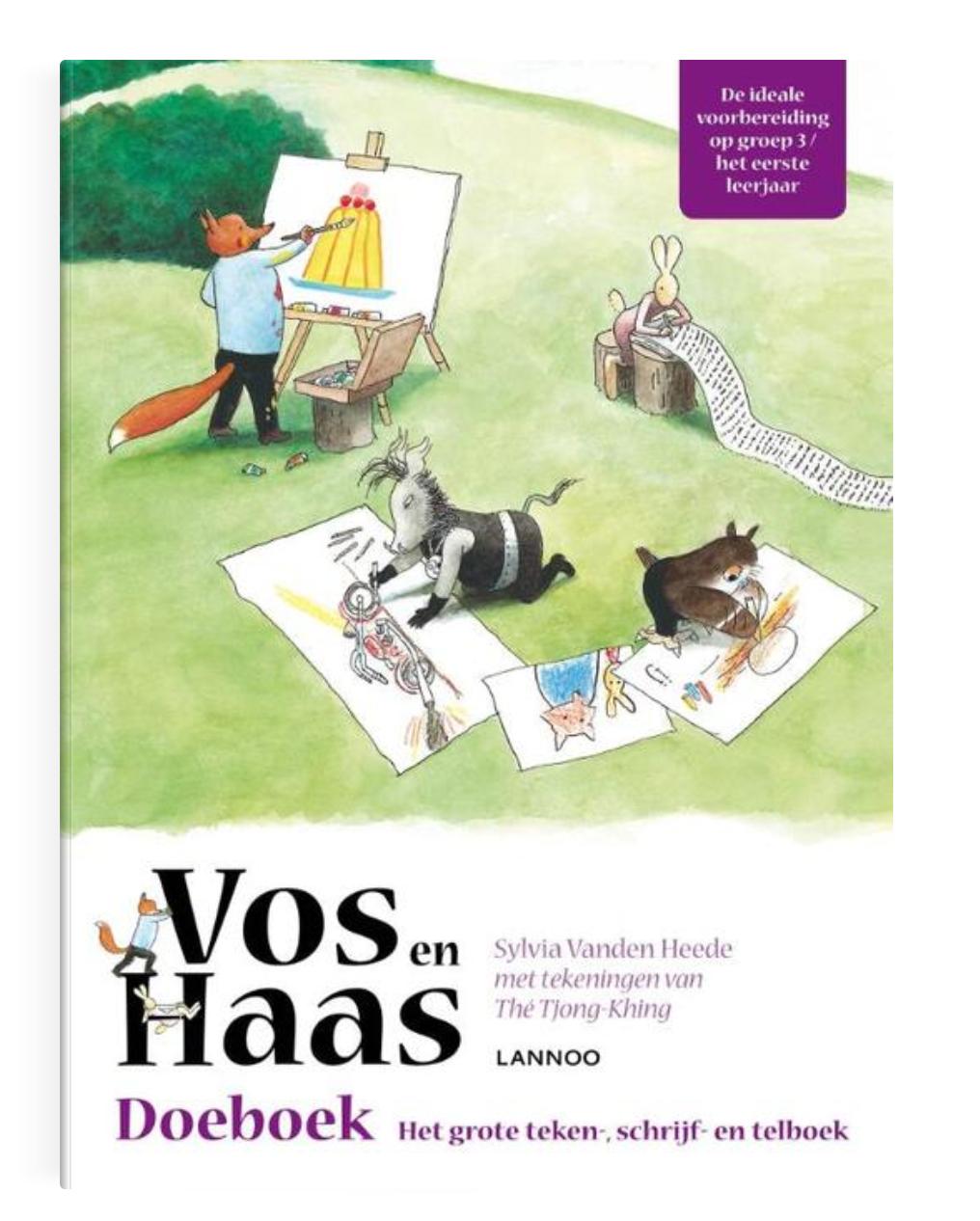 Doeboek - Vos en Haas - Lannoo-1