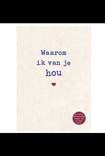Boek Waarom ik van je hou