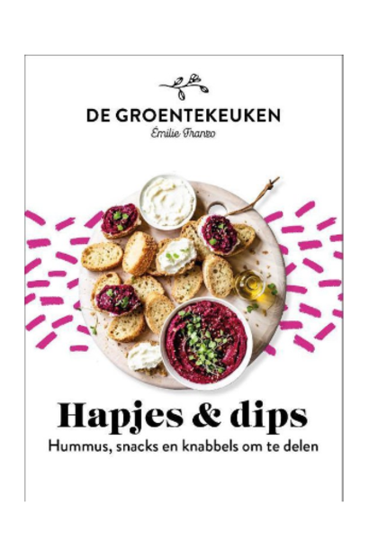 Boek De Groentekeuken - Hapjes & Dips