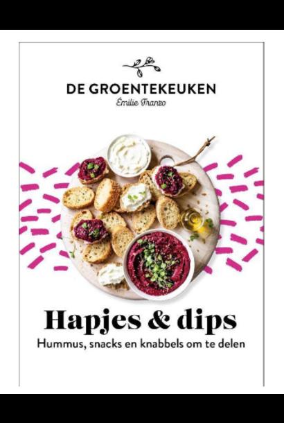 Boek - De Groentekeuken: Hapjes & Dips