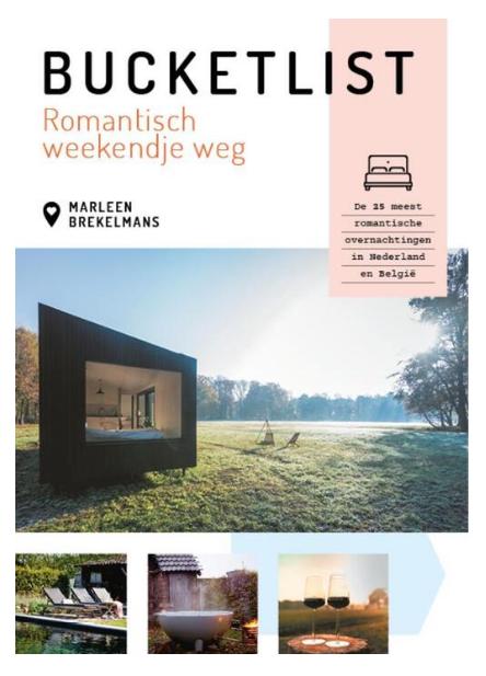 Boek Bucketlist romantisch weekendje weg - Marleen Brekelmans-1