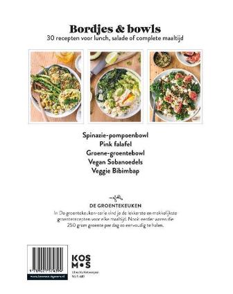Boek De Groentekeuken: Bordjes & Bowls - Kosmos-2