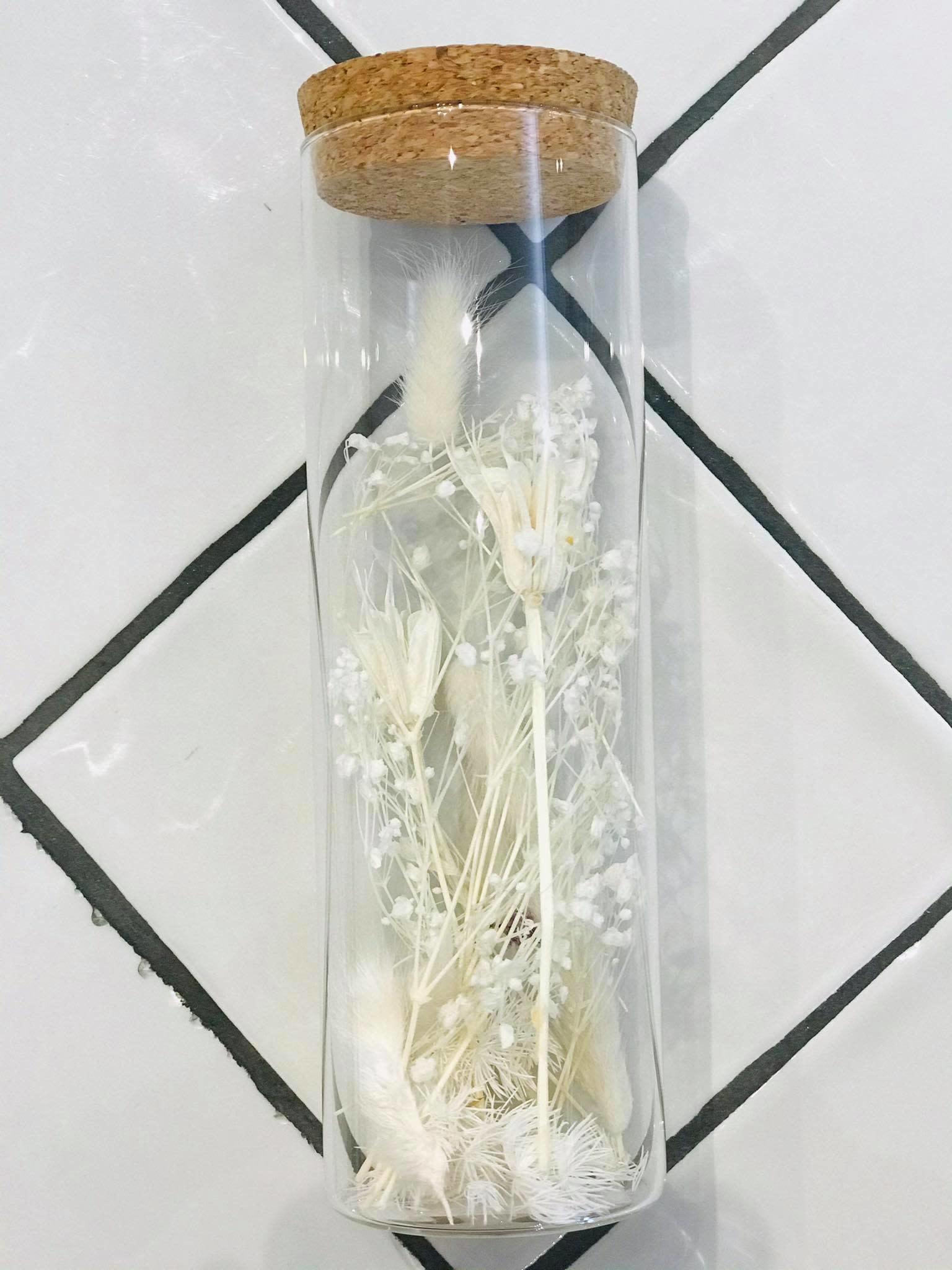 Bloemengeluk in flesje  Wit - Large - Atelier Olala-1
