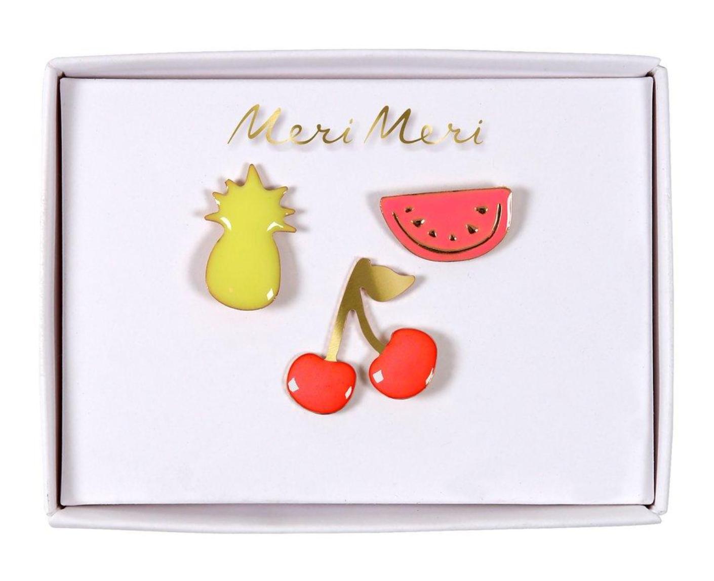 Broches Fruit - Meri Meri-1