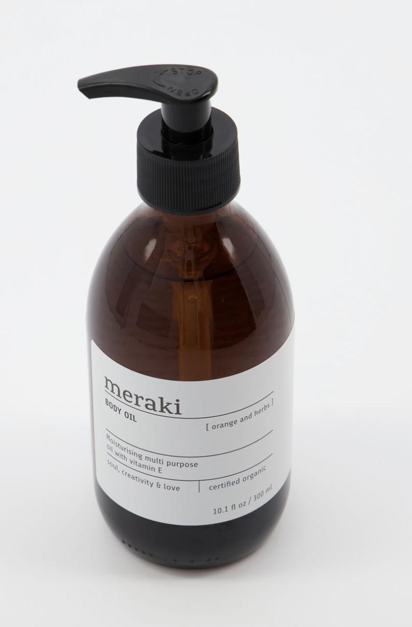 Body Oil Orange & Herbs Large - Meraki-2
