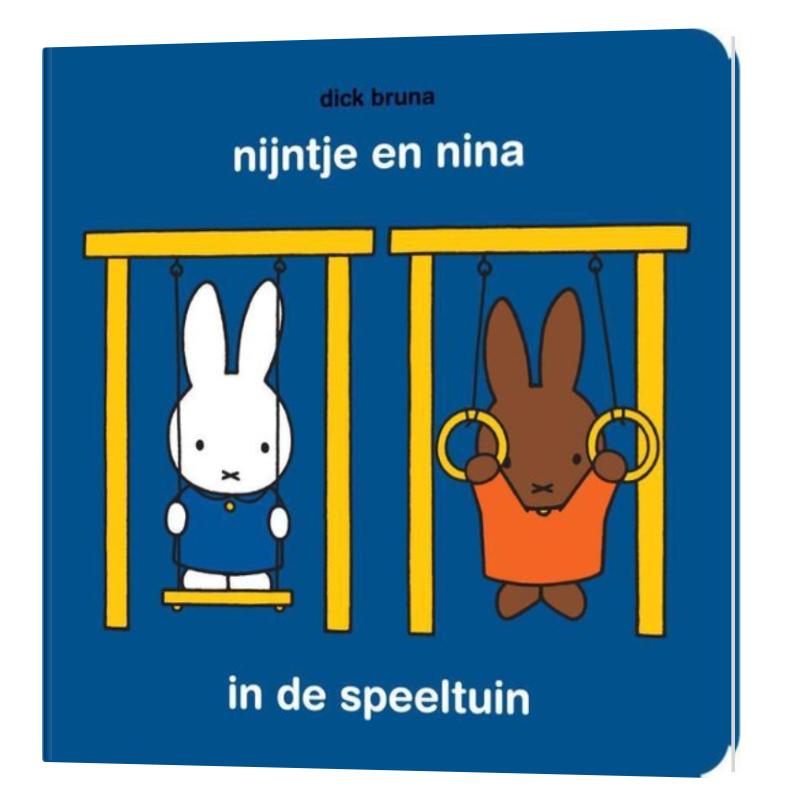 Boekje - Nijntje & Nina In De Speeltuin - Mercis-1