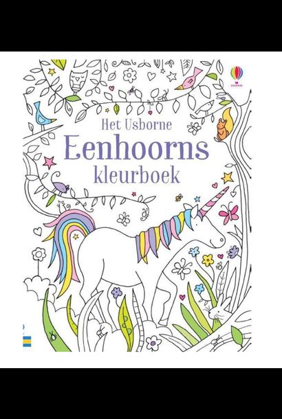 Kleurboek Eenhoorns