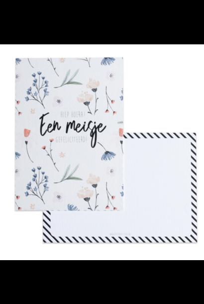 Greeting Card- Een meisje