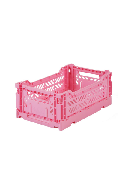 Folding crate Baby Pink - Small