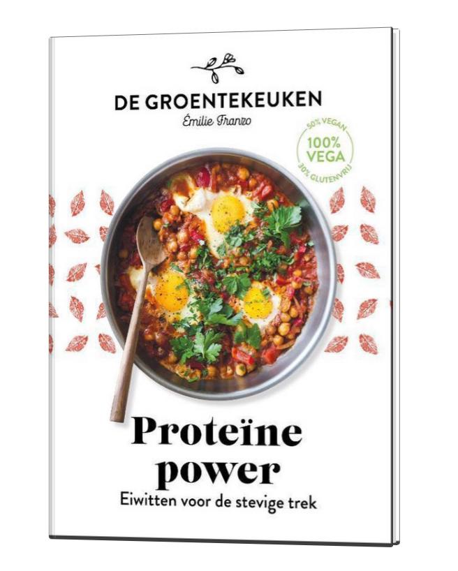 Boek - De Groentekeuken: Proteïne Power - Kosmos-1
