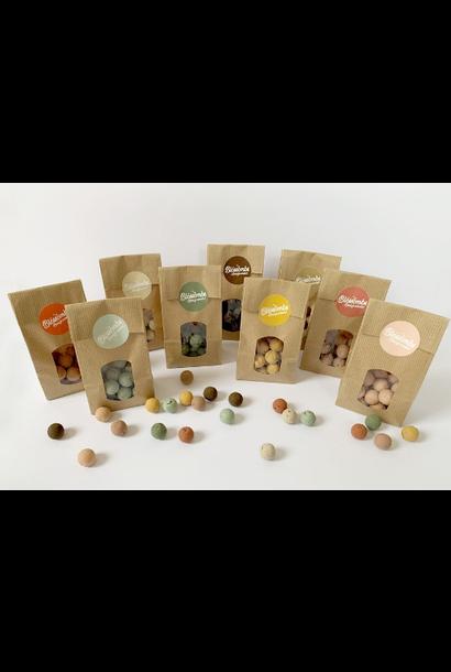 Bag of 10 Seed Bombs Ochre