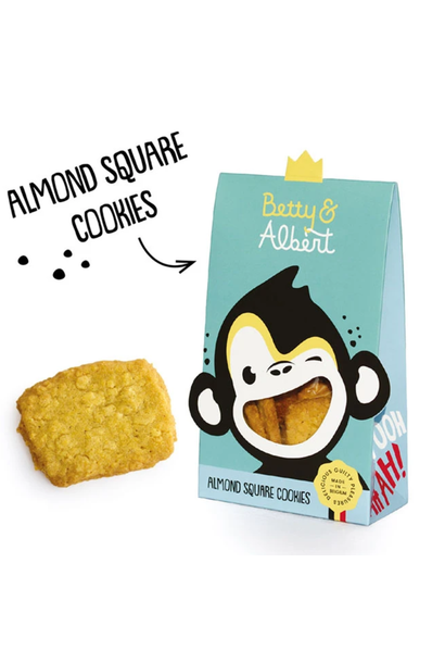 Almond Square Cookies