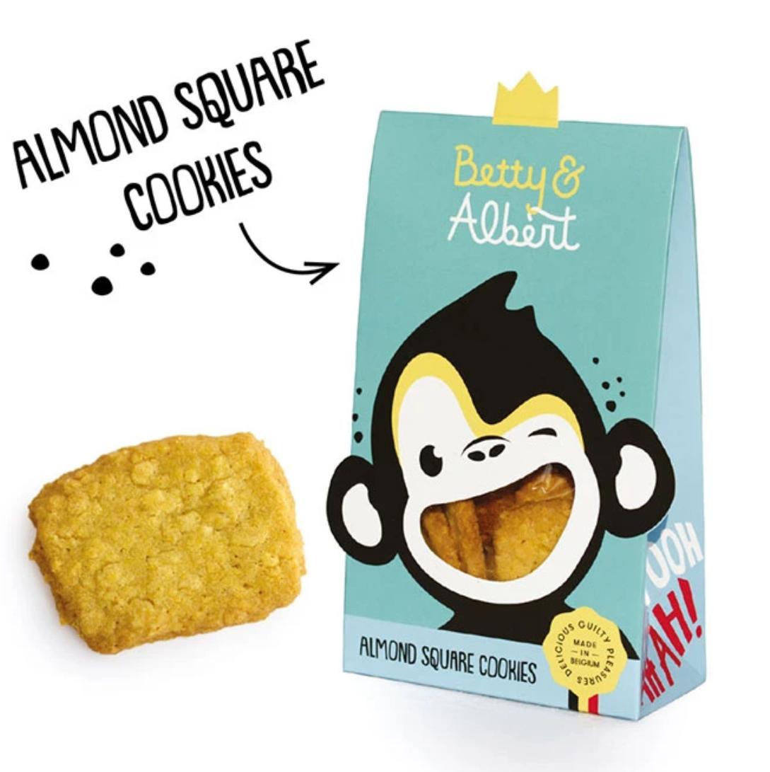 Almond Square Cookies - Betty & Albert-1