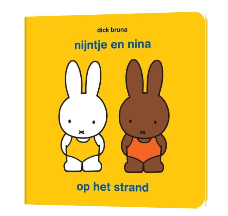 Boekje - Nijntje & Nina Op Het Strand - Mercis-1