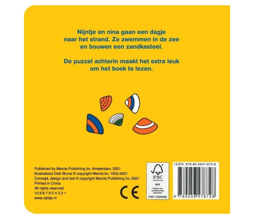 Boekje - Nijntje & Nina Op Het Strand - Mercis-2