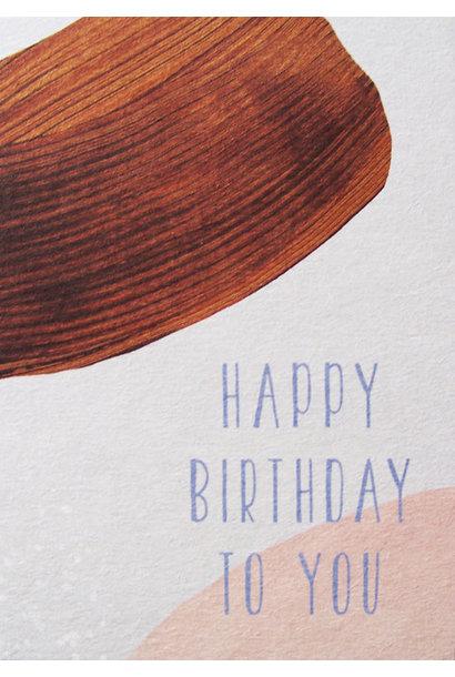 Kaartje Happy Birthday To You