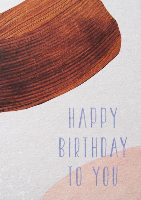 Kaartje Happy Birthday To You - Anna Cosma-1