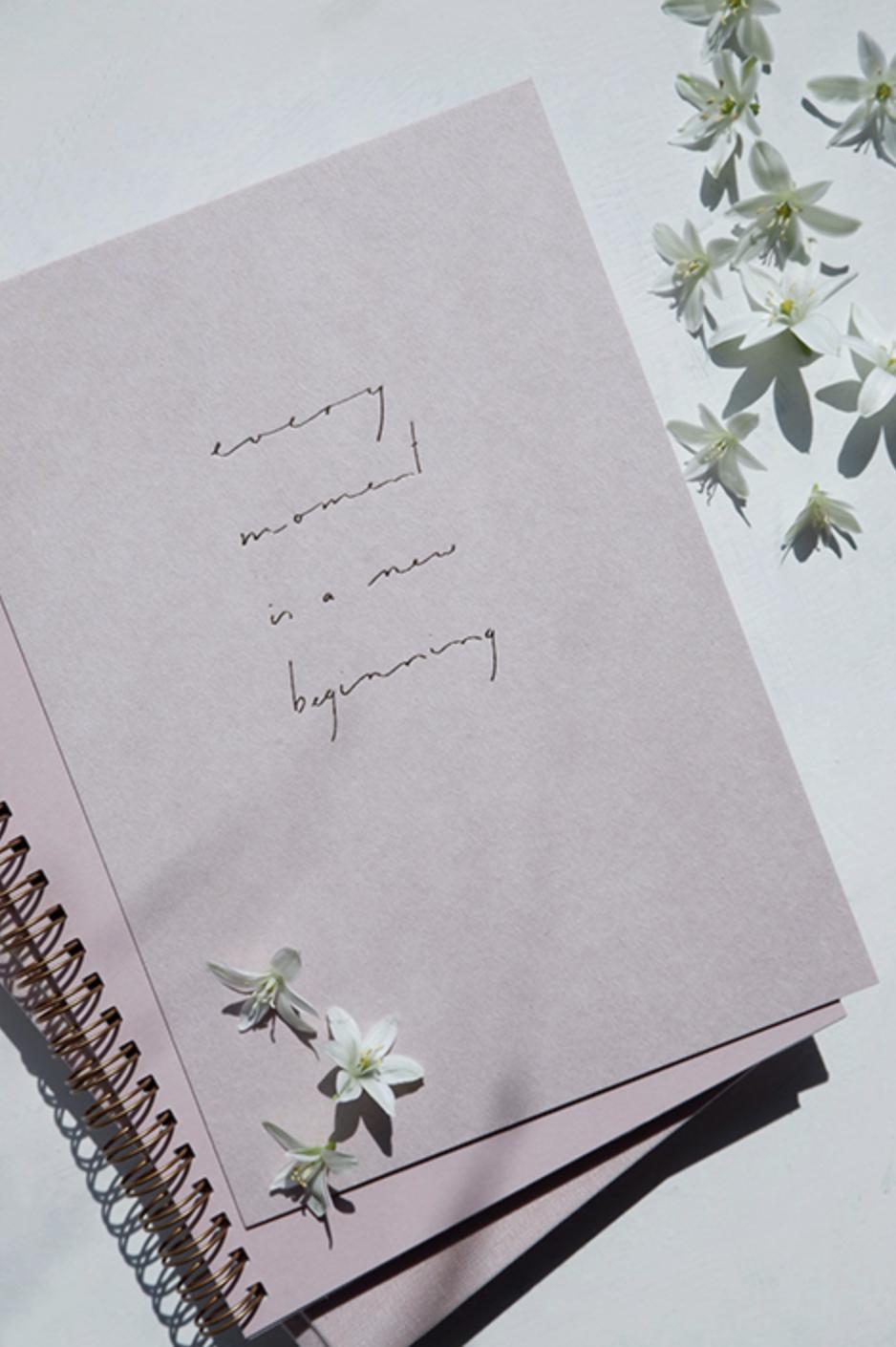 Kaart Every Moment Is A New Beginning - Anna Cosma-1