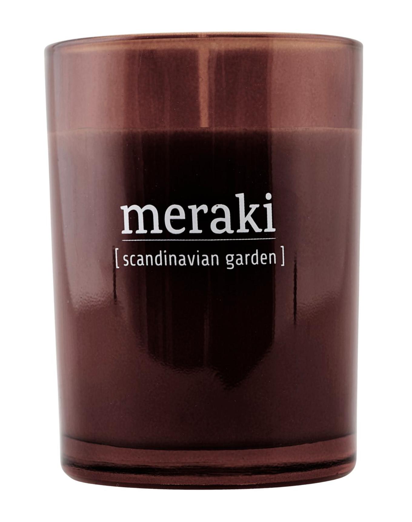 Geurkaars Scandinavian Garden - Meraki-1