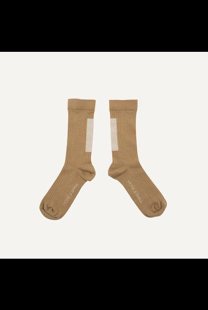 Sokken bruin maat 35-38