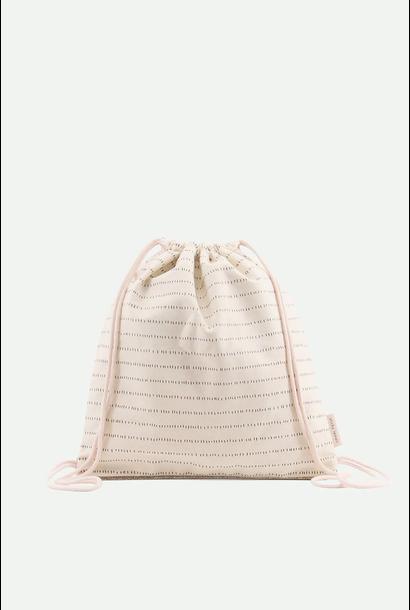 Backpack Pink & Glitter Gold