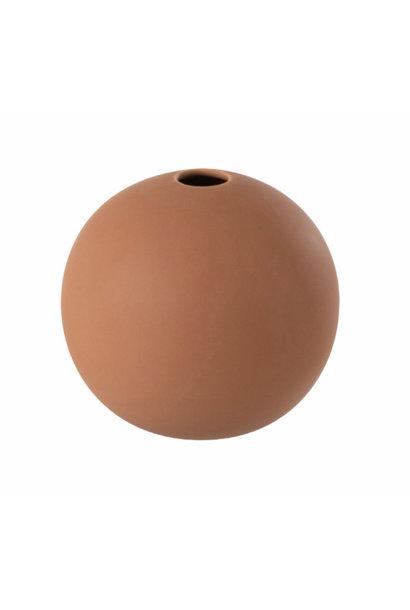 Vase ceramic rust Small