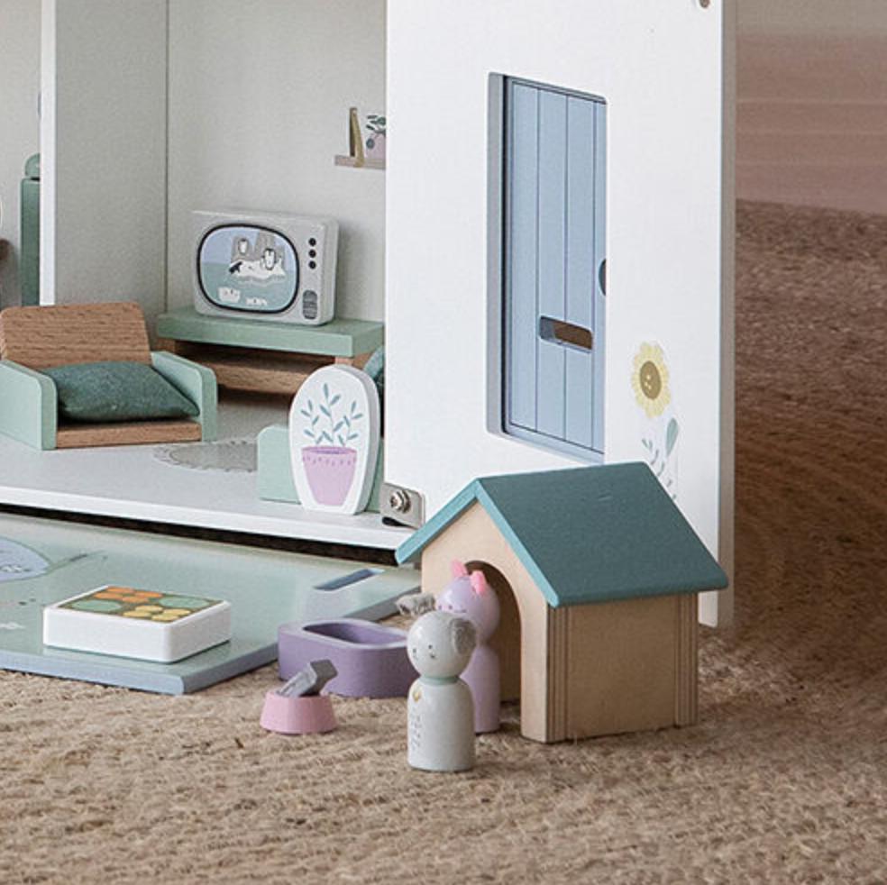 Poppenhuis Huisdieren - Little Dutch-3