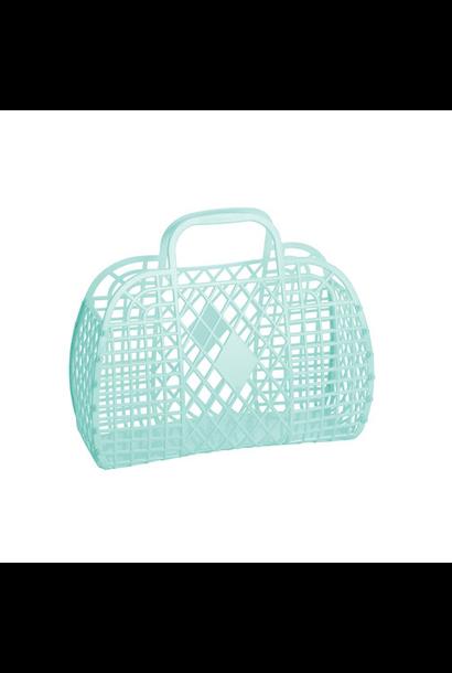 Retro Basket Munt Small