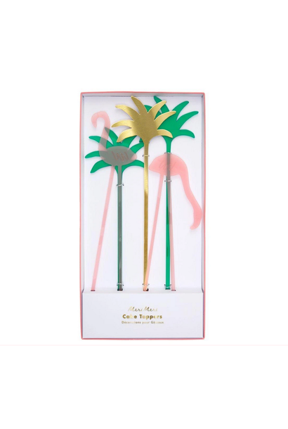 Cake Toppers Tropical