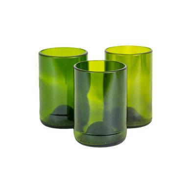 Set Glas Groen M - Gerecycleerd - Original Home-2