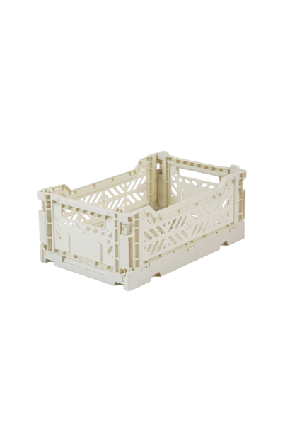 Folding Crate Light Grey - Small
