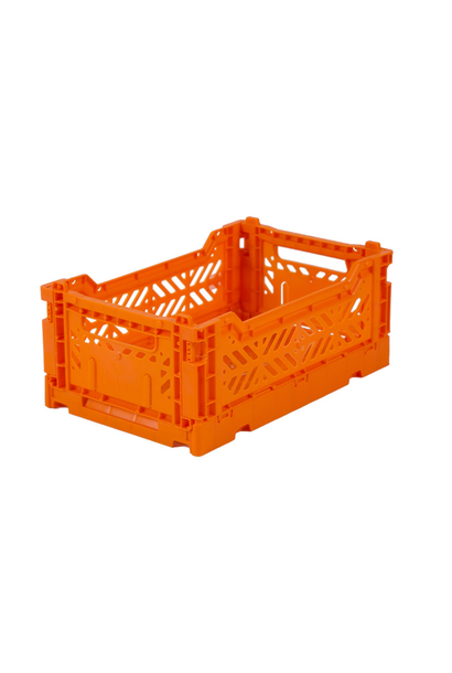 Folding Crate Orange - Small - AyKasa