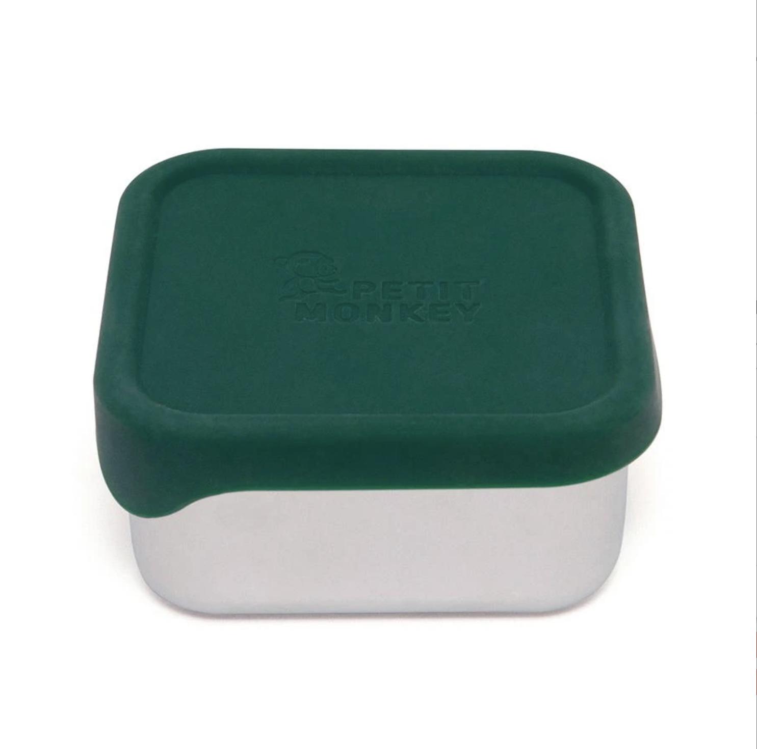 Lunchbox Mae Pine Green - Petit Monkey-1