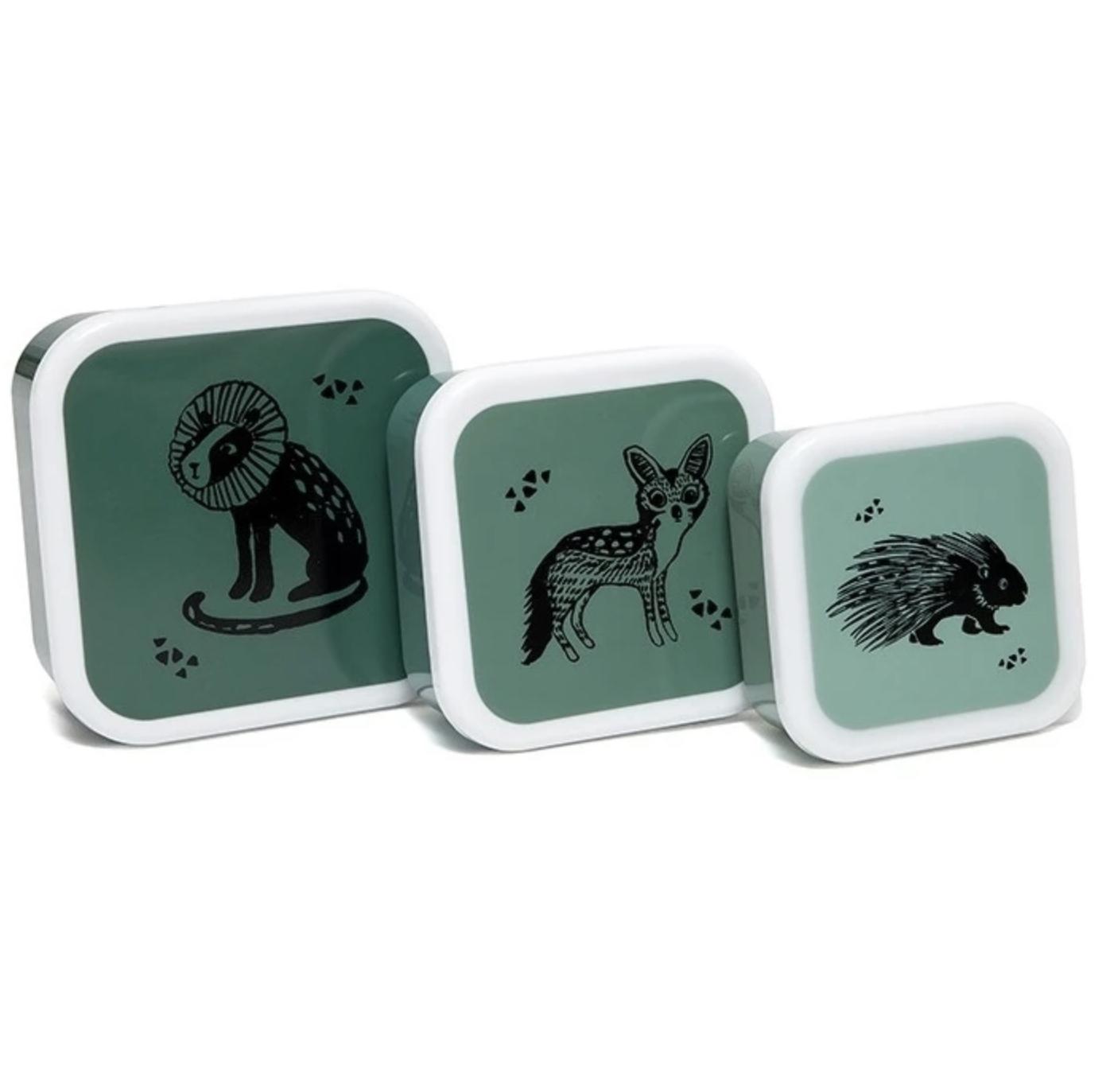 Snackbox Set Dieren Salie - Petit Monkey-1