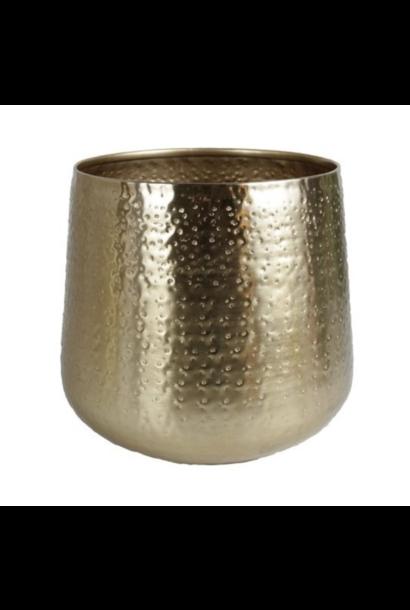 Gouden Bloempot Medium
