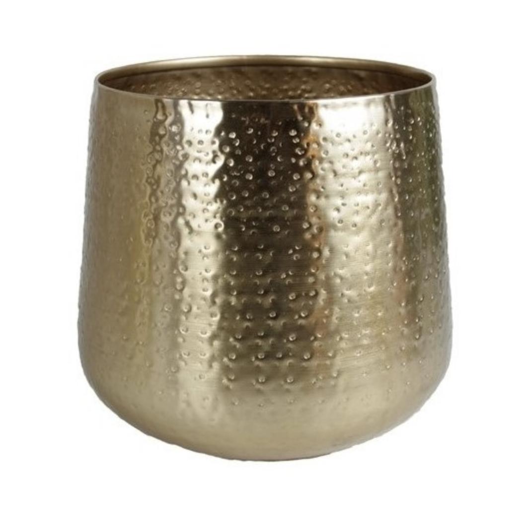 Gouden Bloempot Medium - Gina Da-1