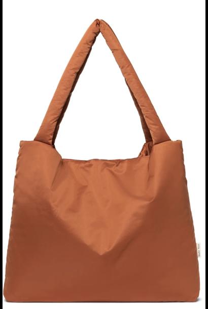 Mom-Bag Puffy Rust