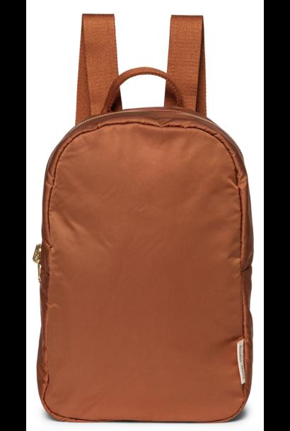 Puffy Backpack Rust