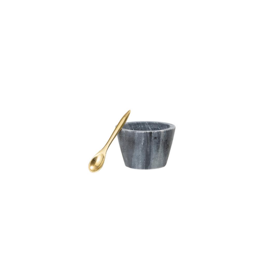 Marmeren Zoutvat Grijs - Bloomingville-1
