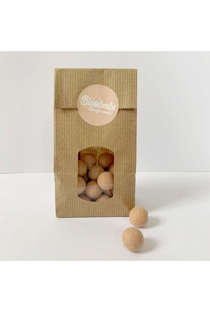 Bag of 10 Seed Bombs Powder Pink
